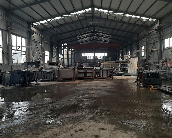 滨州青石材生产车间